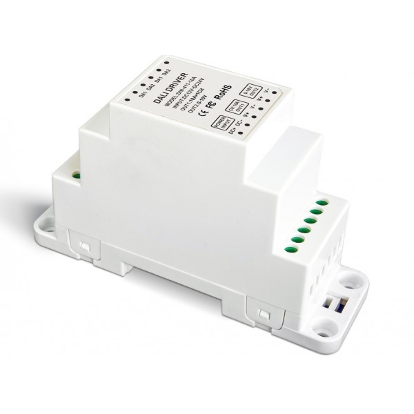 led dimmer dali din-rail 1x12a