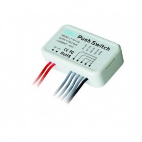 DALI Push Switch Double Group (0-15) - LT-424-G2
