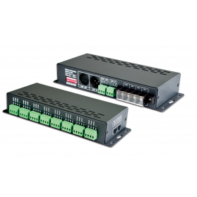 LED Decoder DMX 24x3A - LT-880