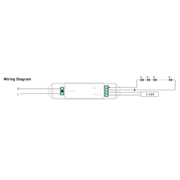 Remarkable Led Driver 0 10V 350 700Ma 10W Ad 10 350 700 F1P1 Wiring Cloud Philuggs Outletorg