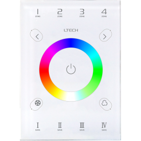 LED Touch Panel RGBW Zone DMX/RF/WIFI - UX7