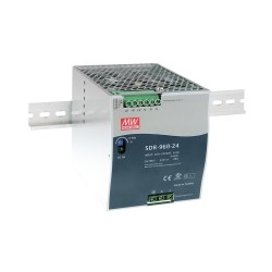 Meanwell DIN rail PSU 24V 40A 960W