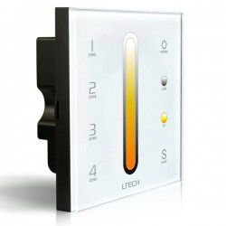 LED Dimmer Touch CT DMX/RF 4 zones - DX6