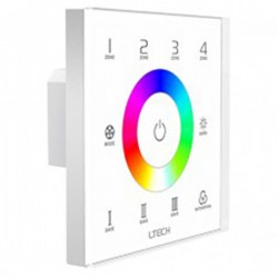LED Touch Panel RGB DMX/RF 4 Zones - EX7S