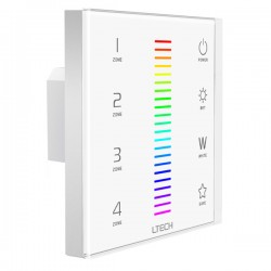 LED Touch Controller DMX/RF RGBW 4 Zones - EX8